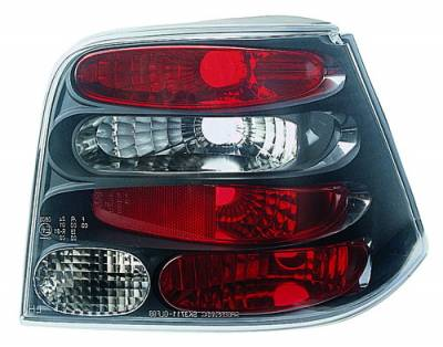 Headlights & Tail Lights - Tail Lights - In Pro Carwear - Volkswagen Golf IPCW Taillights - Crystal Eyes - 1 Pair - CWT-1502B2