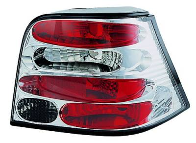 Headlights & Tail Lights - Tail Lights - In Pro Carwear - Volkswagen Golf IPCW Taillights - Crystal Eyes - 1 Pair - CWT-1502C2