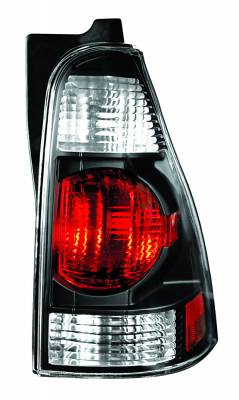 Headlights & Tail Lights - Tail Lights - In Pro Carwear - Toyota 4Runner IPCW Taillights - Crystal Eyes - 1 Pair - CWT-2003CB
