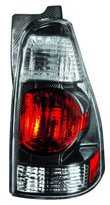 Headlights & Tail Lights - Tail Lights - In Pro Carwear - Toyota 4Runner IPCW Taillights - Crystal Eyes - 1 Pair - CWT-2003CF
