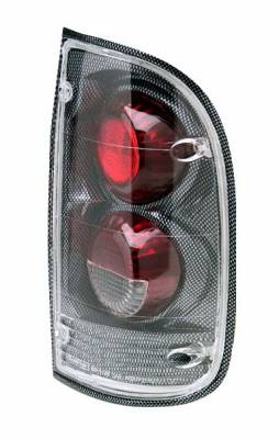 Headlights & Tail Lights - Tail Lights - In Pro Carwear - Toyota Tacoma IPCW Taillights - Crystal Eyes - 1 Pair - CWT-2015C2F