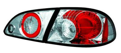 Headlights & Tail Lights - Tail Lights - In Pro Carwear - Toyota Corolla IPCW Taillights - Crystal Eyes - 3PC - CWT-2030C2