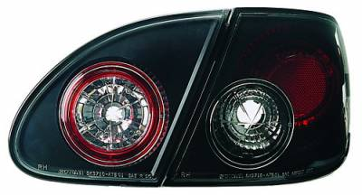 Headlights & Tail Lights - Tail Lights - In Pro Carwear - Toyota Corolla IPCW Taillights - Crystal Eyes - 4PC - CWT-2031B2