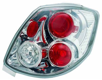 Headlights & Tail Lights - Tail Lights - In Pro Carwear - Toyota Matrix IPCW Taillights - Crystal Eyes - 1 Pair - CWT-2034C2