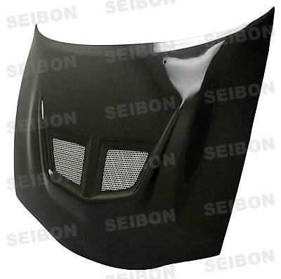 Eclipse - Hoods - Seibon - Mitsubishi Eclipse Seibon EVO Style Carbon Fiber Hood - HD9599MITEC-EVO