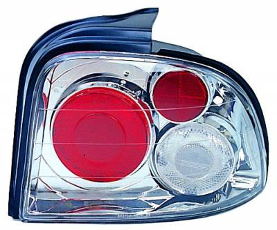 Headlights & Tail Lights - Tail Lights - In Pro Carwear - Dodge Neon IPCW Taillights - Crystal Eyes - 1 Pair - CWT-404C2