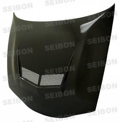 Eclipse - Hoods - Seibon - Mitsubishi Eclipse Seibon VSII Style Carbon Fiber Hood - HD9599MITEC-VSII