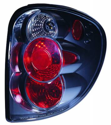 Headlights & Tail Lights - Tail Lights - In Pro Carwear - Plymouth Voyager IPCW Taillights - Crystal Eyes - 1 Pair - CWT-409B2