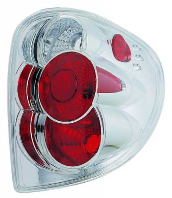Headlights & Tail Lights - Tail Lights - In Pro Carwear - Dodge Caravan IPCW Taillights - Crystal Eyes - 1 Pair - CWT-409C2