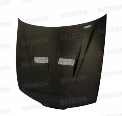 Prelude - Hoods - Seibon - Honda Prelude Seibon VSII Style Carbon Fiber Hood - HD9701HDPR-VSII