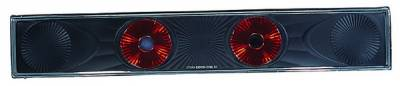 Headlights & Tail Lights - Tail Lights - In Pro Carwear - Honda Civic HB IPCW Taillights - Crystal Eyes - 3PC - CWT-725B2
