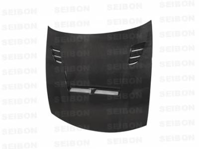 240SX - Hoods - Seibon - Nissan 240SX Seibon TA Style Carbon Fiber Hood - HD9798NS240-TA