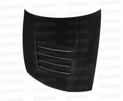 240SX - Hoods - Seibon - Nissan 240SX Seibon TR Style Carbon Fiber Hood - HD9798NS240-TR