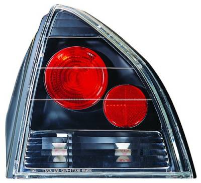 Headlights & Tail Lights - Tail Lights - In Pro Carwear - Honda Prelude IPCW Taillights - Crystal Eyes - 1 Pair - CWT-738B2