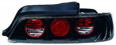 Headlights & Tail Lights - Tail Lights - In Pro Carwear - Honda Prelude IPCW Taillights - Crystal Eyes - 1 Pair - CWT-739B2