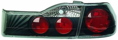 Headlights & Tail Lights - Tail Lights - In Pro Carwear - Honda Accord 4DR IPCW Taillights - Crystal Eyes - 1PC - CWT-741B2