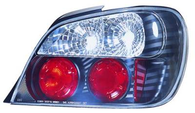 Headlights & Tail Lights - Tail Lights - In Pro Carwear - Subaru WRX IPCW Taillights - Crystal Eyes - 1 Pair - CWT-850B2