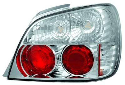 Headlights & Tail Lights - Tail Lights - In Pro Carwear - Subaru WRX IPCW Taillights - Crystal Eyes - 1 Pair - CWT-850C2