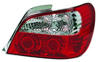 Headlights & Tail Lights - Tail Lights - In Pro Carwear - Subaru WRX IPCW Taillights - Crystal Eyes - 1 Pair - CWT-850R2