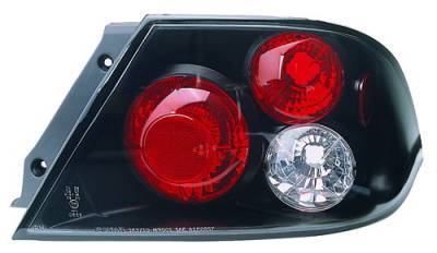 Headlights & Tail Lights - Tail Lights - In Pro Carwear - Mitsubishi Lancer IPCW Taillights - Crystal Eyes - CWT-906B2