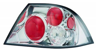 Headlights & Tail Lights - Tail Lights - In Pro Carwear - Mitsubishi Lancer IPCW Taillights - Crystal Eyes - CWT-906C2