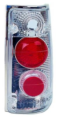 Headlights & Tail Lights - Tail Lights - In Pro Carwear - Isuzu Pickup IPCW Taillights - Crystal Eyes - 1 Pair - CWT-972C2