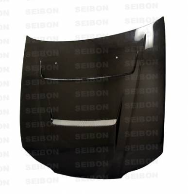 Silvia - Hoods - Seibon - Nissan Silvia Seibon DV Style Carbon Fiber Hood - HD9901NSS15-DV