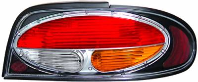 Headlights & Tail Lights - Tail Lights - In Pro Carwear - Nissan Altima IPCW Taillights - Crystal Eyes - 1 Pair - CWT-CE1102BA