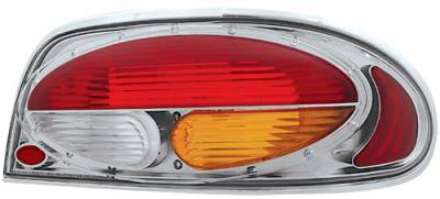 Headlights & Tail Lights - Tail Lights - In Pro Carwear - Nissan Altima IPCW Taillights - Crystal Eyes - 1 Pair - CWT-CE1102CA