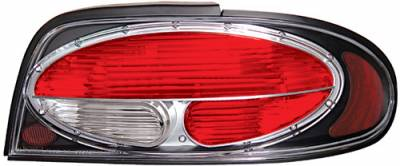 Headlights & Tail Lights - Tail Lights - In Pro Carwear - Nissan Altima IPCW Taillights - Crystal Eyes - 1 Pair - CWT-CE1102CB