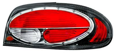 Headlights & Tail Lights - Tail Lights - In Pro Carwear - Nissan Altima IPCW Taillights - Crystal Eyes - 1 Pair - CWT-CE1102CF