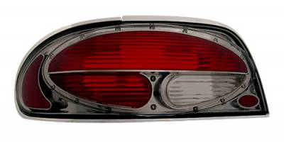 Headlights & Tail Lights - Tail Lights - In Pro Carwear - Nissan Altima IPCW Taillights - Crystal Eyes - 1 Pair - CWT-CE1102CS