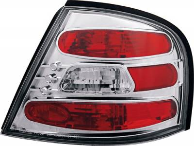Headlights & Tail Lights - Tail Lights - In Pro Carwear - Nissan Altima IPCW Taillights - Crystal Eyes - 1 Pair - CWT-CE1109C