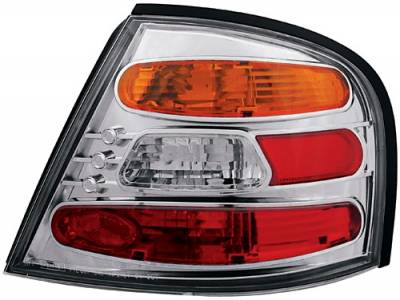 Headlights & Tail Lights - Tail Lights - In Pro Carwear - Nissan Altima IPCW Taillights - Crystal Eyes - 1 Pair - CWT-CE1109CA