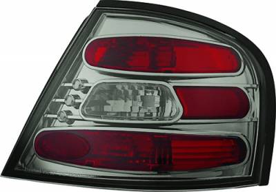 Headlights & Tail Lights - Tail Lights - In Pro Carwear - Nissan Altima IPCW Taillights - Crystal Eyes - 1 Pair - CWT-CE1109CS