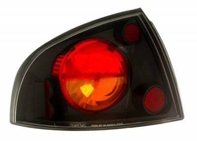 Headlights & Tail Lights - Tail Lights - In Pro Carwear - Nissan Sentra IPCW Taillights - Crystal Eyes - 1 Pair - CWT-CE1112BA