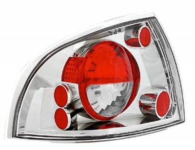 Headlights & Tail Lights - Tail Lights - In Pro Carwear - Nissan Sentra IPCW Taillights - Crystal Eyes - 1 Pair - CWT-CE1112C