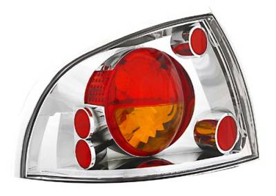 Headlights & Tail Lights - Tail Lights - In Pro Carwear - Nissan Sentra IPCW Taillights - Crystal Eyes - 1 Pair - CWT-CE1112CA
