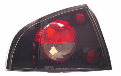 Headlights & Tail Lights - Tail Lights - In Pro Carwear - Nissan Sentra IPCW Taillights - Crystal Eyes - 1 Pair - CWT-CE1112CB