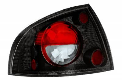 Headlights & Tail Lights - Tail Lights - In Pro Carwear - Nissan Sentra IPCW Taillights - Crystal Eyes - 1 Pair - CWT-CE1112CF