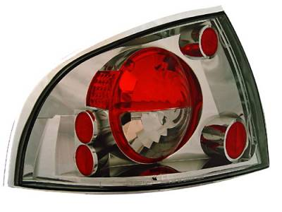 Headlights & Tail Lights - Tail Lights - In Pro Carwear - Nissan Sentra IPCW Taillights - Crystal Eyes - 1 Pair - CWT-CE1112CS
