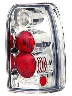 Headlights & Tail Lights - Tail Lights - In Pro Carwear - Toyota 4Runner IPCW Taillights - Crystal Eyes - 1 Pair - CWT-CE2002