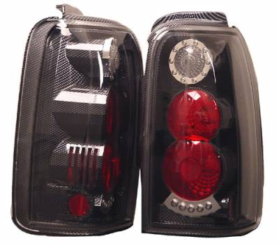 Headlights & Tail Lights - Tail Lights - In Pro Carwear - Toyota 4Runner IPCW Taillights - Crystal Eyes - 1 Pair - CWT-CE2002F