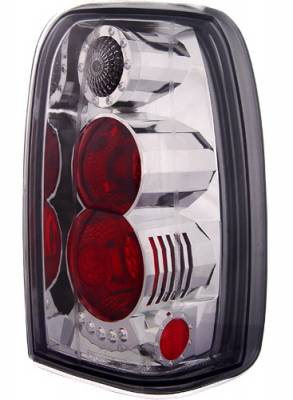 Headlights & Tail Lights - Tail Lights - In Pro Carwear - Toyota 4Runner IPCW Taillights - Crystal Eyes - 1 Pair - CWT-CE2002S