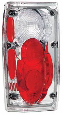 Headlights & Tail Lights - Tail Lights - In Pro Carwear - Toyota Pickup IPCW Taillights - Crystal Eyes - 1 Pair - CWT-CE2008C