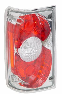 Headlights & Tail Lights - Tail Lights - In Pro Carwear - Toyota Pickup IPCW Taillights - Crystal Eyes - 1 Pair - CWT-CE2009C