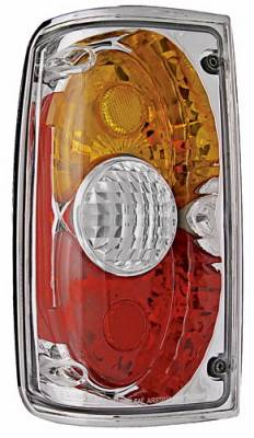 Headlights & Tail Lights - Tail Lights - In Pro Carwear - Toyota Pickup IPCW Taillights - Crystal Eyes - 1 Pair - CWT-CE2009CA
