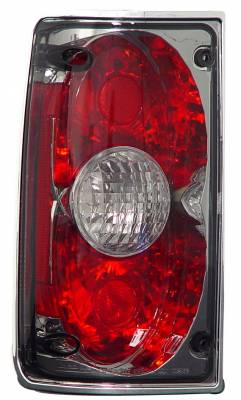 Headlights & Tail Lights - Tail Lights - In Pro Carwear - Toyota Pickup IPCW Taillights - Crystal Eyes - 1 Pair - CWT-CE2009CS