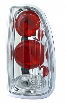 Headlights & Tail Lights - Tail Lights - In Pro Carwear - Toyota Tundra IPCW Taillights - Crystal Eyes - 1 Pair - CWT-CE2026C