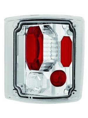 Headlights & Tail Lights - Tail Lights - In Pro Carwear - Chevrolet Tahoe IPCW Taillights - Crystal Eyes - 1 Pair - CWT-CE302C